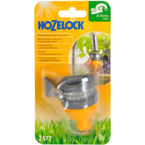 Raccord de fixation robinet mixte Hozelock 24 mm