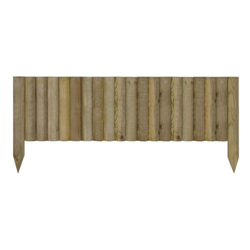 Oxford tuinborder natuurlijk hout 20X90cm