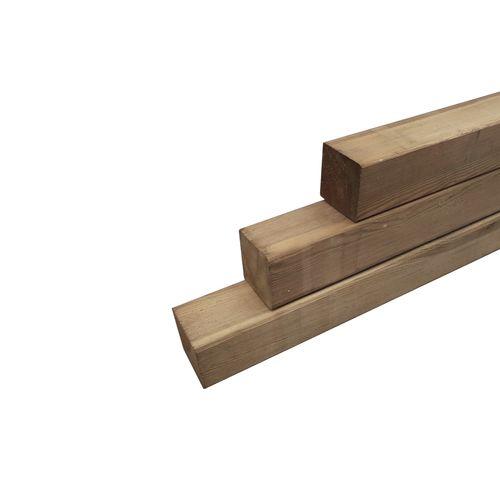 Tuinpaal hout 300 x 8,8 x 8,8 cm