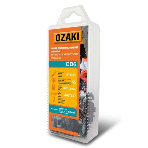 Chaîne de rechange Ozaki 'CD6' pour tronçonneuse 40 cm