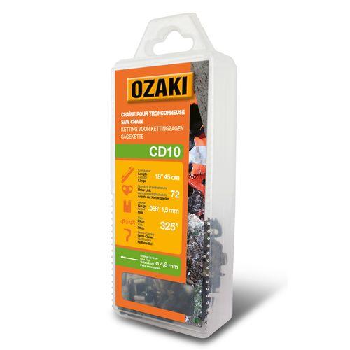 Ozaki zaagketting CD10 voor kettingzaag 45cm