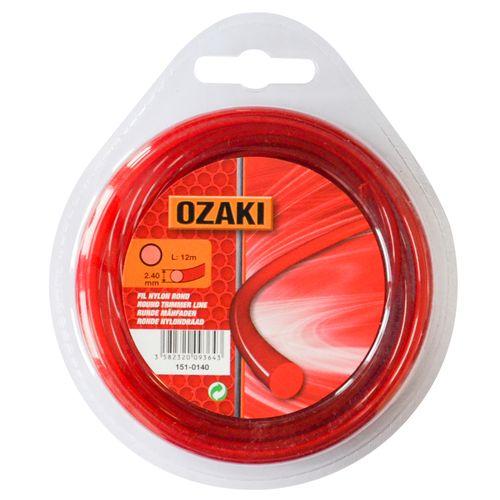Fil de coupe rond Ozaki nylon Ø2,4mm 12m