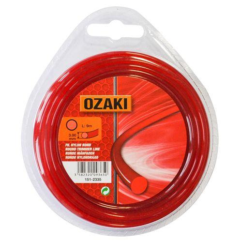 Fil de coupe rond Ozaki en nylon Ø3,4mm 9m