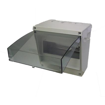 Coffret vide 8 modules Vynckier gris