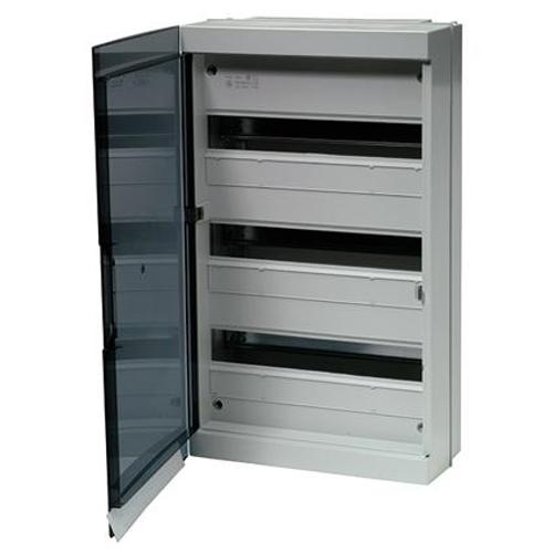 Coffret fix-o-rail 54 modules Vynckier gris