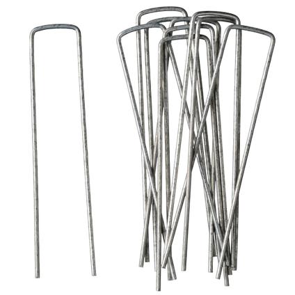 Gronddoekpennen metal 14cm 10 stuks