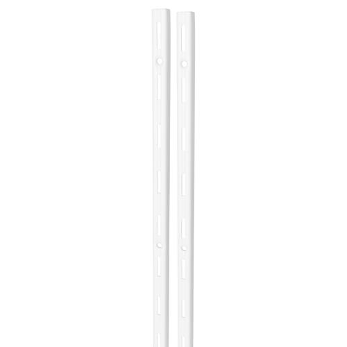 Duraline F-rail enkel wit 150cm