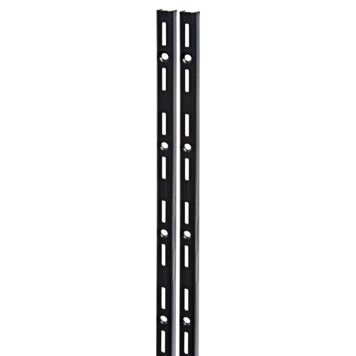 Duraline F-rail enkel zwart 50cm