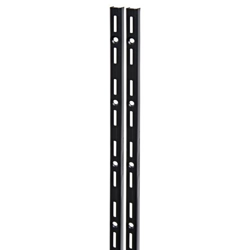 F-rail Duraline simple noir 100 cm