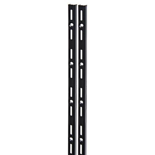 F-rail Duraline simple noir 200 cm
