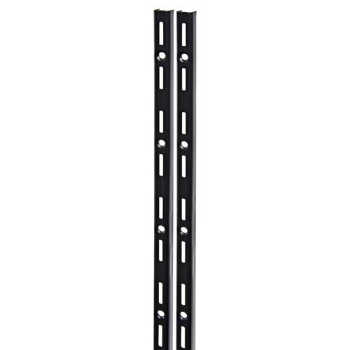 Duraline F-rail enkel zwart 200cm