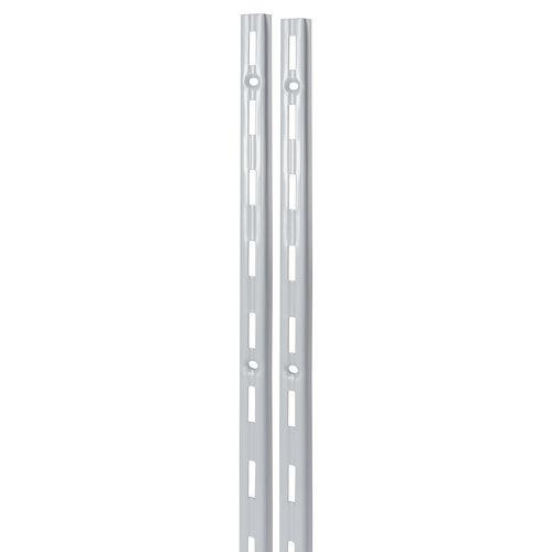 F-rail Duraline simple mat argenté 150 cm
