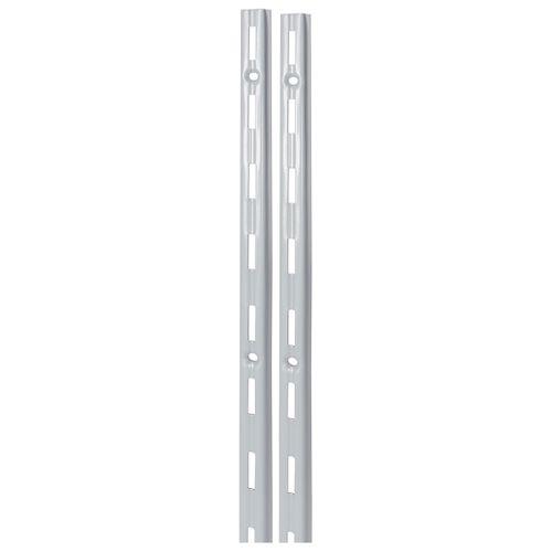 F-rail Duraline simple mat argenté 200 cm