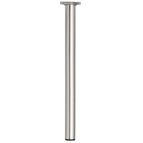 Meubelpoot metaal rond bronzenickel 40 cm