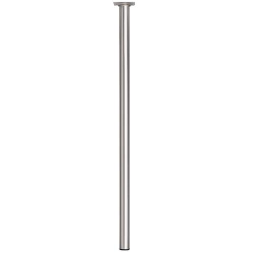 Meubelpoot metaal rond bronzenickel 70 cm