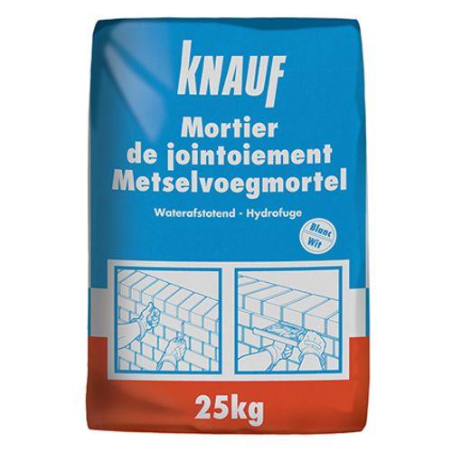 Mortier de jointoiement Knauf blanc 25 kg