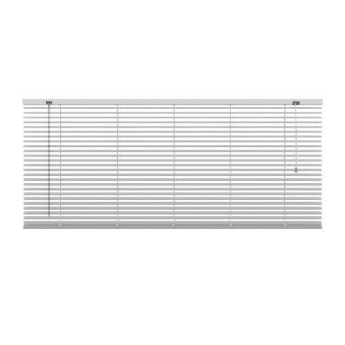 Decosol 201 horizontale jaloezie aluminium wit 180x180cm