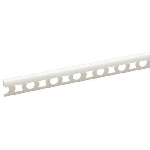 Profilé carrelage JéWé PVC blanc 2,53 cm