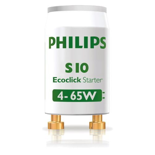 Philips EcoClick TL-starter S10 - 2 stuks