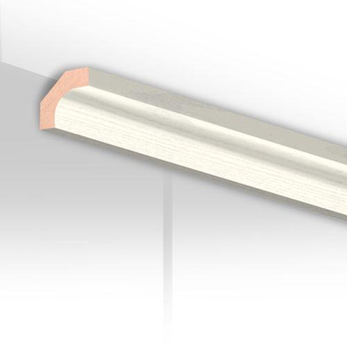 Moulure de finition HDM blanc cristal 24mm
