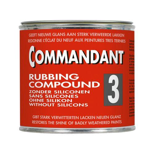 Commandant polijstpasta 3 Rubbing Compound 500gr