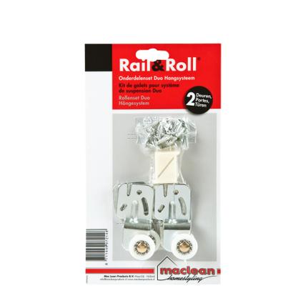 Mac Lean rail & roll duo-accessoires pakket