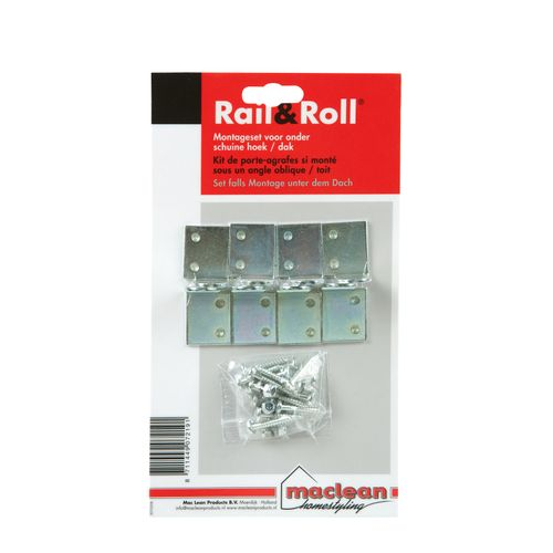 Mac Lean rail & roll raildrager pakket 2 stuks