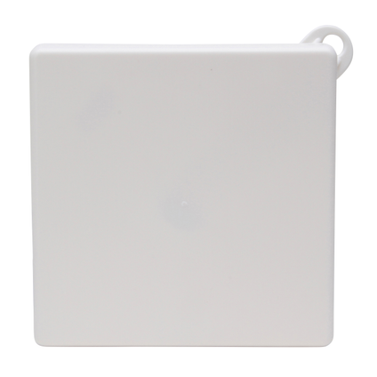Kopp plafond afdekplaat vierkant 112 mm wit